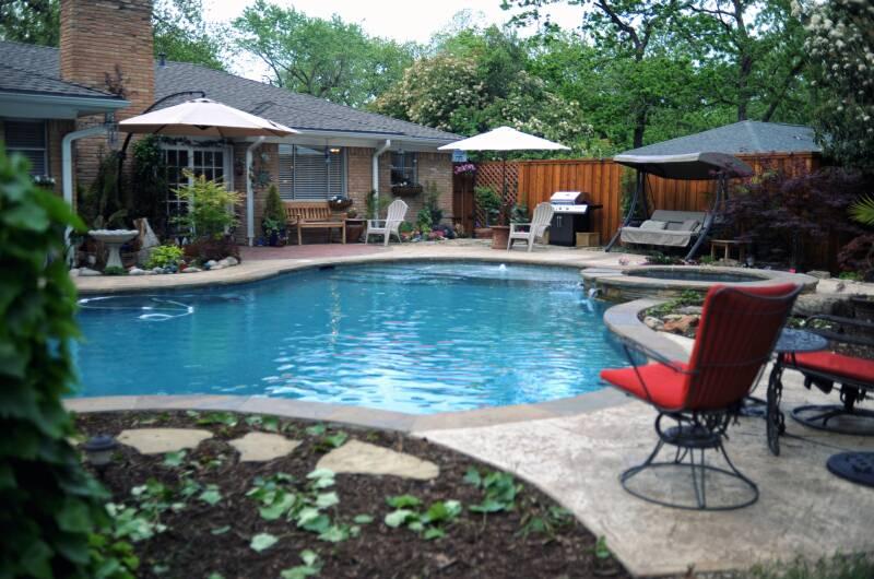 Dallas Pool Builder Concrete Pools Allen Tx Dfw Texas